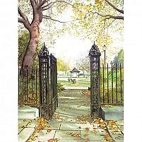 Gates to Falkner Square Liverpool