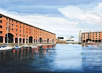 Albert Dock and Museum of Liverpool