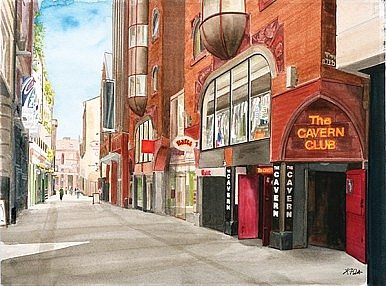 Mathew Street Liverpool and the Cavern Club