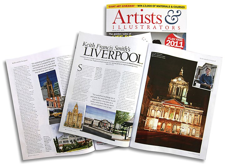 Artists & Illustrators Magazine feature